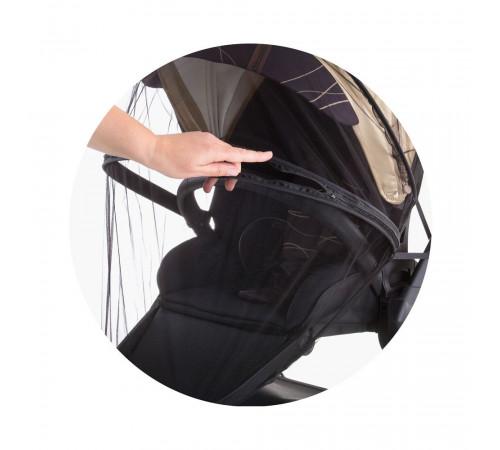 chipolino Универсальная москитная сетка для коляски mkklux02102bl чёрный