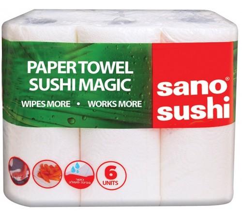 sano prosop din hartie sushi (6 role/set) 427107