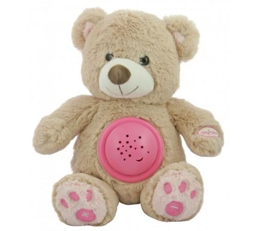 """baby mix stk-18956 pink Проектор музыкальный """"Мишка"""""""