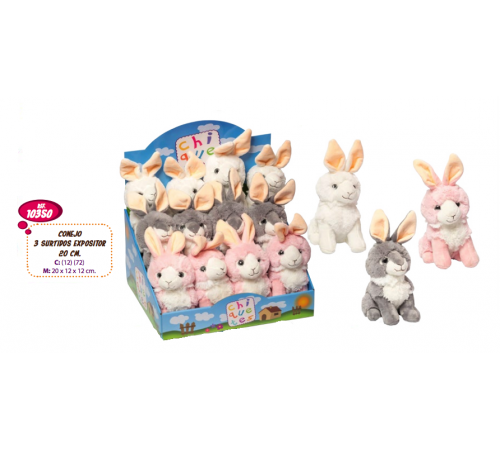 Детскиймагазин в Кишиневе в Молдове artesania beatriz 10350 Мягкая игрушка Кролик 20 см