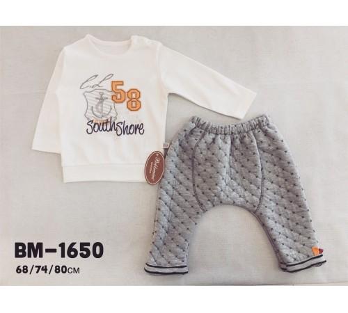 Одежда для малышей в Молдове twetoon baby bm-1650 Комплект 2 ед в ассортименте