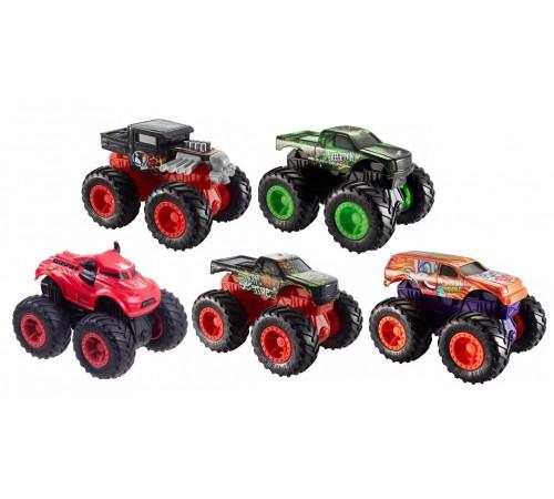 """hot wheels fyj71 Увеличенная машинка-внедорожник 1:43 серии """"monster trucks"""" в асс."""
