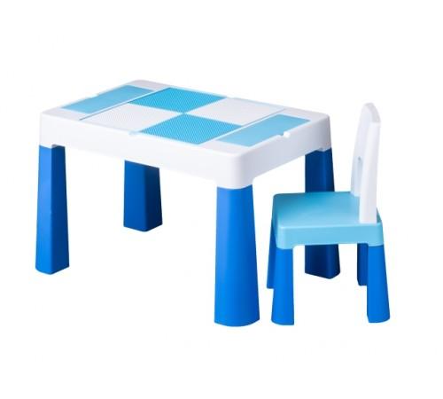 tega baby Столик и стульчик  multifun mf-001-120 синий
