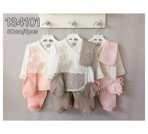 Одежда для малышей в Молдове twetoon baby 134101 Набор из 5 единиц для новорожденных