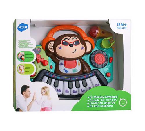 """Детскиймагазин в Кишиневе в Молдове hola toys 3137 Музыкальное пианино """"Обезьянка"""""""