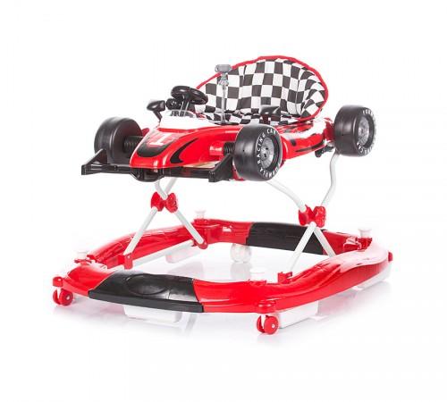 chipolino ходунок racer 4 в 1 prmf01703fr красный