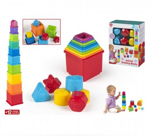 color baby 44286 Пирамидка-сортер