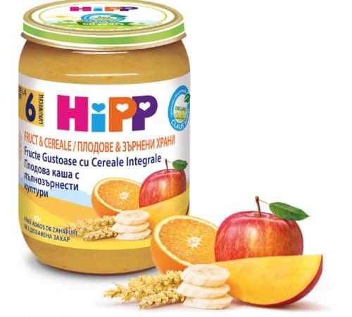 hipp 4800 cereale cu fructe 190 gr. (6m+)