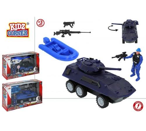 """color baby 44857 transport de politie """"kidz corner"""" in sort."""