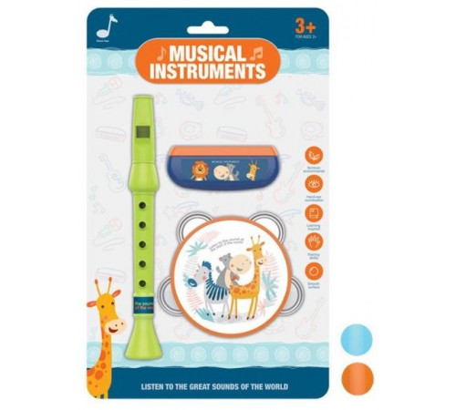 Jucării pentru Copii - Magazin Online de Jucării ieftine in Chisinau Baby-Boom in Moldova op МЛЕ2.126 set de instrumente muzicale