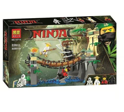 """Jucării pentru Copii - Magazin Online de Jucării ieftine in Chisinau Baby-Boom in Moldova bela РД02.146 constructor """"ninja"""" bătălia de la garmadona și maestrul wu (334 el.)"""