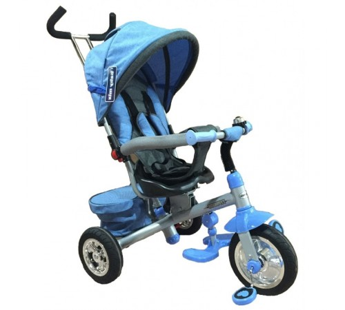 "baby mix ur-et-b30-3 Трицикл ""Тайфун"" голубой"
