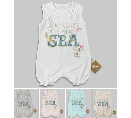 Одежда для малышей в Молдове flexi 236199 Комбинезон (56-62-68 см.) в асс.