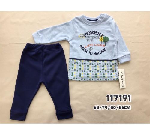 Одежда для малышей в Молдове twetoon baby 117191 Комплект 2 ед в ассортименте