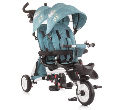 chipolino трицикл для близнецов  2fun trk2f0192oc голубой