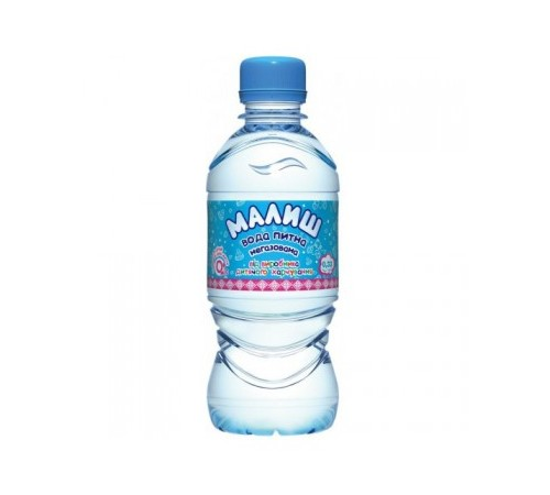 apa pentru copii МАЛЫШ 0,33l
