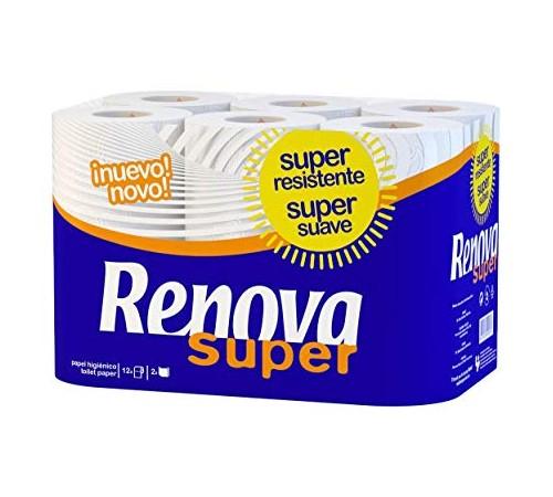 renova Бумага гигиеническая super (12) белая 8000260