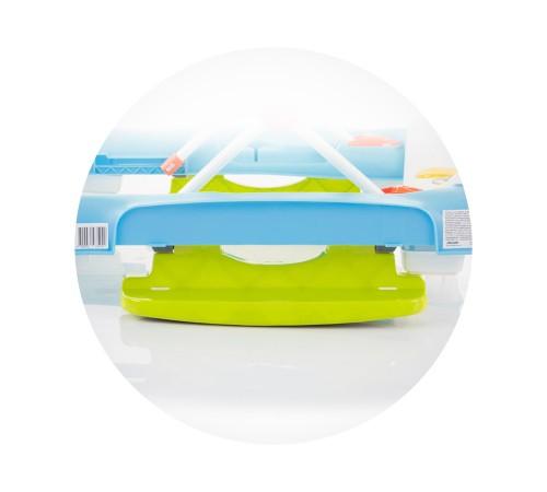 chipolino Ходунки 4-в-1 fancy prfn01904bl голубой/салатовый