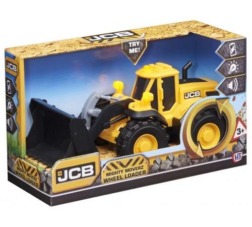 """Детскиймагазин в Кишиневе в Молдове teamsterz 1416888 Погрузчик со светом и звуком """"tz jcb mighty moverz wheel loader"""""""