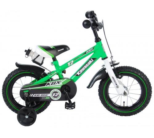 """volare bicicleta """"kawasaki 12"""" 81230 verde"""