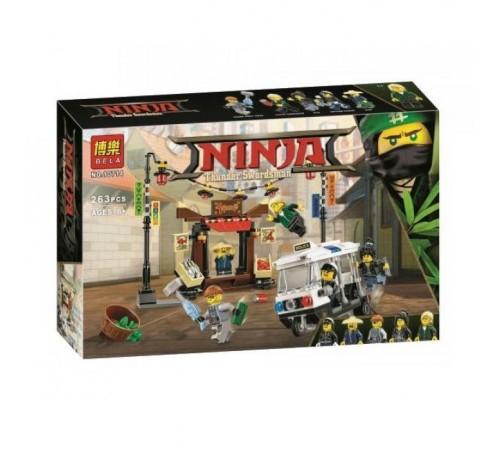 "bela РД02.147 constructor ""ninja"" jaf ninjago city (263 el.)"