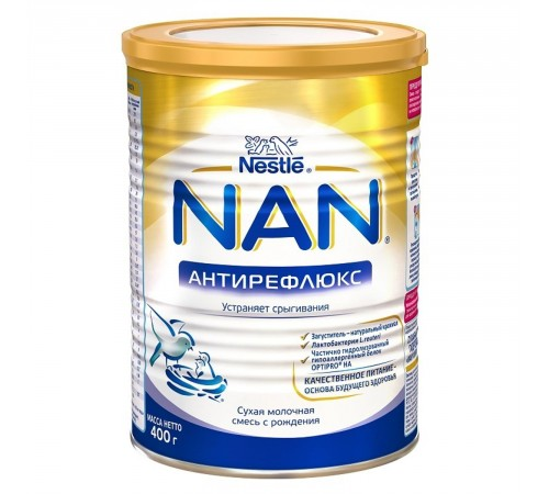 nestle nan antireflux 400g