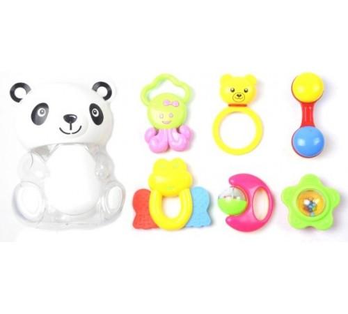 "Jucării pentru Copii - Magazin Online de Jucării ieftine in Chisinau Baby-Boom in Moldova op МЛЕ1.178 set de zornaitori ""panda"""