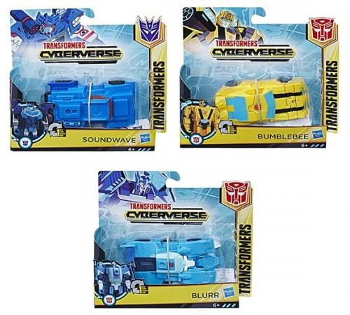 """transformers e3522 Трансформеры """"Кибервселенная Уан-Степ"""" (11 см.)  в асс."""