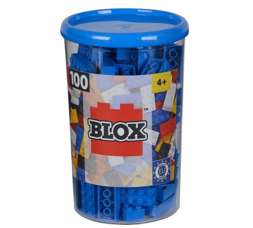 "Jucării pentru Copii - Magazin Online de Jucării ieftine in Chisinau Baby-Boom in Moldova simba 4118906 constructor ""blox"" (100 el.) albastru"