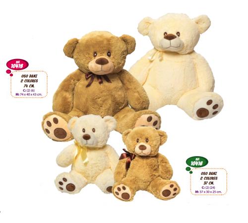 artesania beatriz 10416 Мягкая игрушка Медведь 37 см
