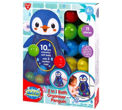 """Детскиймагазин в Кишиневе в Молдове playgo 18703 Игровой набор для купания """"Пингвин"""""""