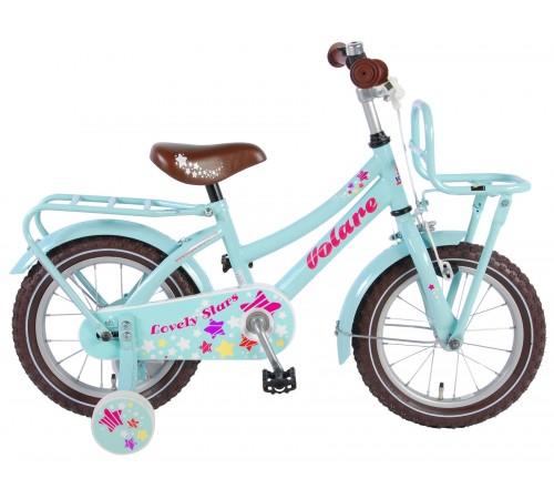 "volare Велосипед ""lovely stars 14"" 81427 голубой"