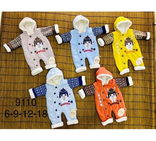 Одежда для малышей в Молдове bebemania 9110 Комбинезон утепленный в асс.