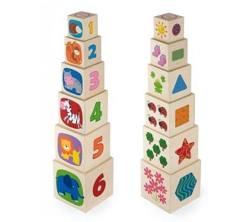 3toysm u1/50392 cuburi din lemn