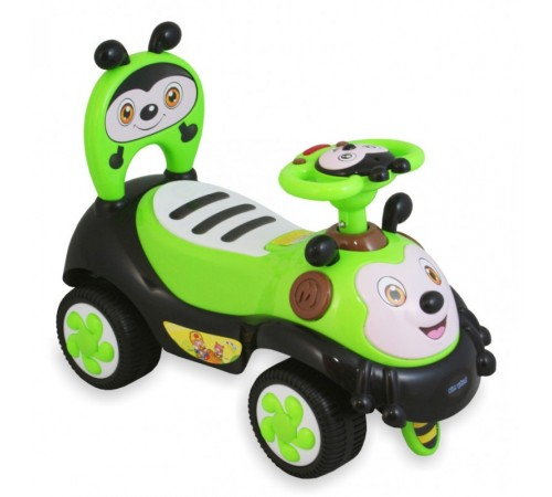 "baby mix ur-7625 green Машина детская ""Пчелка"""