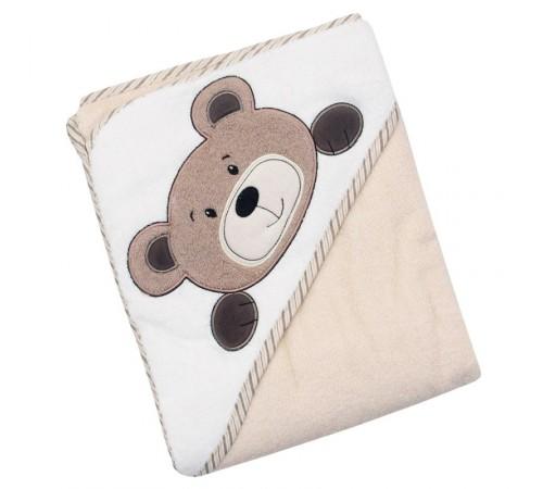baby mix z-cy-34/bear Полотенце с капюшоном 100*100 Медведь