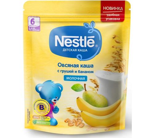 Детское питание в Молдове nestle Каша молочная овсяная с грушей и бананом 220 гр. (6 м+)