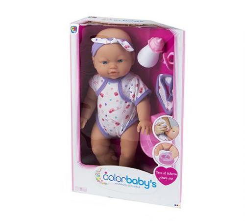 Детскиймагазин гусь-гусь в Кишиневе в Молдове color baby 43419 Кукла bebe pipi 41см в ассортименте 2