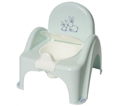"tega baby oala-scaunel muzical ""bunny"" po-065-105 verde"