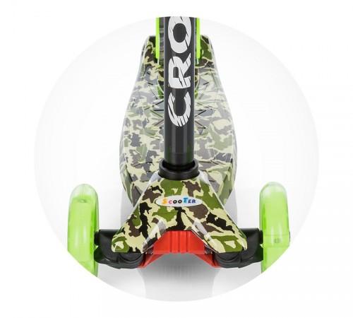 chipolino Самокат croxer dscr01703gr зеленый