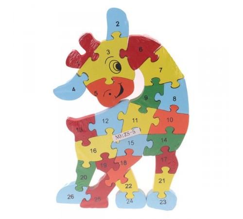 Jucării pentru Copii - Magazin Online de Jucării ieftine in Chisinau Baby-Boom in Moldova op РЕ06.29 puzzle din lemn