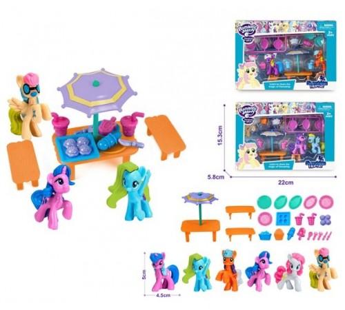 Jucării pentru Copii - Magazin Online de Jucării ieftine in Chisinau Baby-Boom in Moldova op ДЕ04.29 set de joc cu ponei