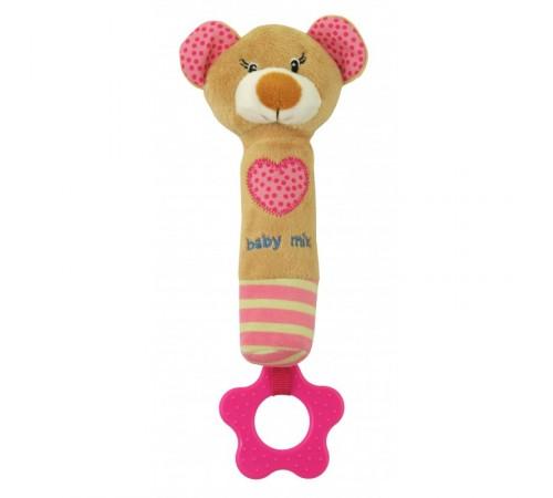 "Jucării pentru Copii - Magazin Online de Jucării ieftine in Chisinau Baby-Boom in Moldova baby mix stk-16431p zornaitoare din plus ""ursulet""roz"