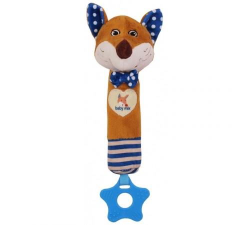 Jucării pentru Copii - Magazin Online de Jucării ieftine in Chisinau Baby-Boom in Moldova baby mix  stk-17510b zornaitoare  din plus vulpe albastru deschis