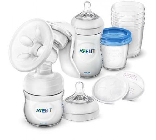 avent scd221/00 Ручной молокоотсос и набор для хранения