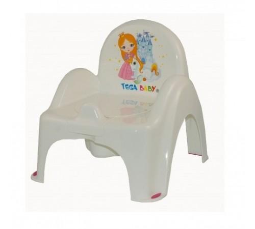 tega baby Горшок-кресло Принцесса lp-007-103 белый