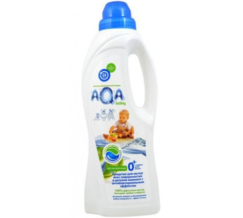 81.07 aqa baby Ср-во для мытья поверхностей в детской комнате 700мл 892834