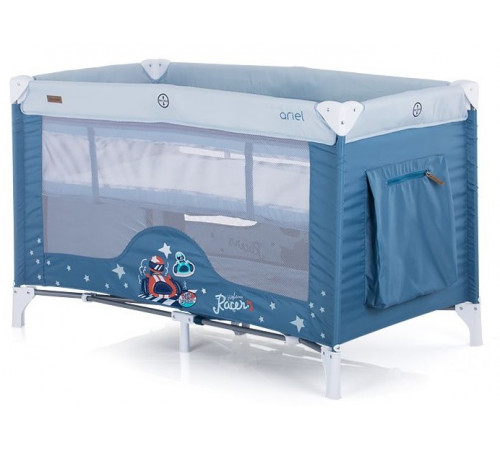 chipolino Манеж-кровать ariel kosiar0202bo синий