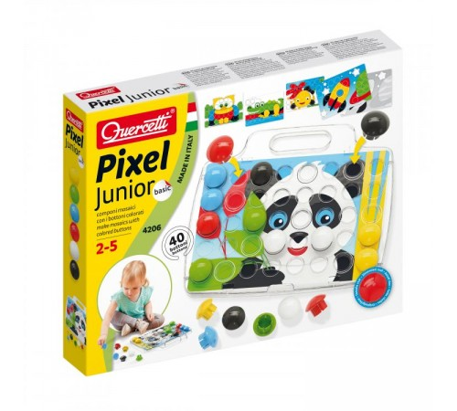 quercetti 4206 Мозаика pixel junior basic