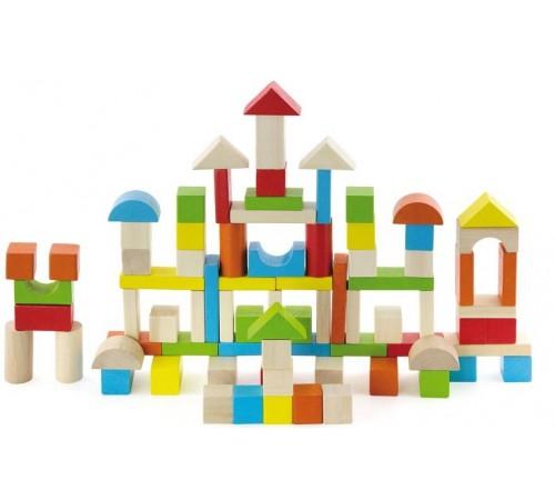 Детскиймагазин в Кишиневе в Молдове 3toysm kl02 50333 Деревянный конструктор (80 дет.)